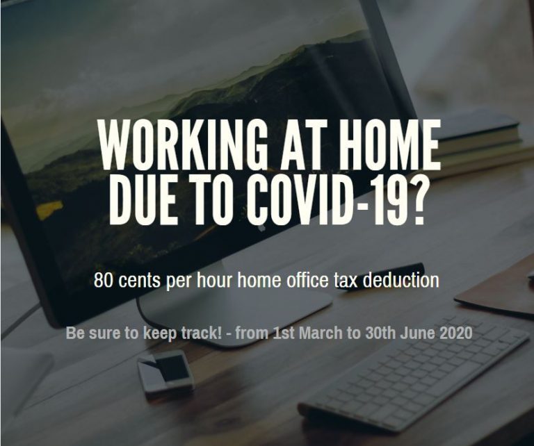 Working At Home Tax Deduction Due To COVID-19